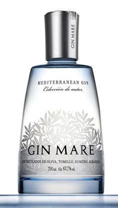 Gin Mare Mediterranean Gin is of fine and consistent quality and this excellent gin can be purchased online now from alexander hadleigh wine merchants in southampton, Rum Bottle, Liquor Bottles, O Gin, Premium Gin, Gin Tasting, Gin Recipes, Gin Gifts, Gin And Tonic, Wine And Spirits