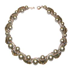 My Lovely Beads :: Necklace - Silver Pearls
