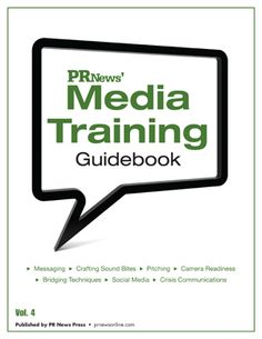 "SAVE $100 on PR News' Media Training Guidebook! Use code ""Pinterest"" at checkout to receive the discount. #PR http://www.prnewsonline.com/store/53.html"