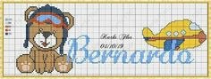 Teddy Bear Crafts, Alphabet, Disney Characters, Fictional Characters, Cross Stitch, Comics, Cross Stitch Baby, Bear Graphic, Embroidery Stitches