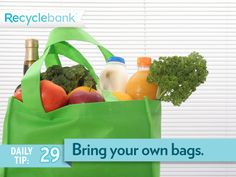 BYOB… bring your own bags… for any errands!