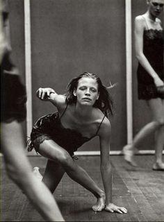 "tombov: Vogue Italia 1997 September ""Enchanting Mood"" by Peter Lindbergh"