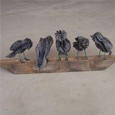Vogels met maakvoorbeeld