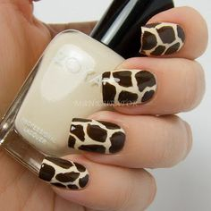 Giraffe Nails.. i want to do this