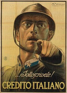 Ww1 Posters, Political Posters, I Want You Poster, Sicily Travel, Art Deco Movement, Flyer, Social Events, Military Art, Vintage Advertisements