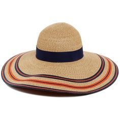 Eugenia Kim Soft Brimmed Bunny Straw Hat (560 CAD) ❤ liked on Polyvore  featuring 5241754c49ac