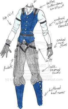 MHcd - Forgery by LoveLiesBleeding2 // love this outfit for either a male or female 'mechanic' character