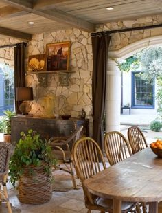 perfect outdoor dining and gathering place!