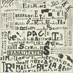 Poster, 1922.  Theo van Doesburg