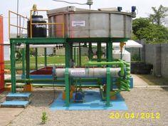 Sistema de Tratamiento de Aguas Residuales Sanitarias por medio de un equipo DAF