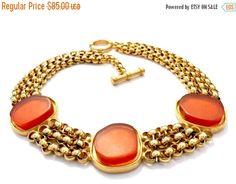 Roxanne Assoulin Multi-Strand Choker Necklace by Vintageimagine