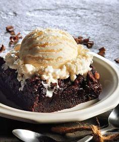 Fudge Brownies #slowcooker