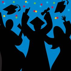 Graduation Silhouettes Party Supplies