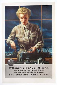 Woman's Place in War