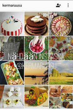 Kermaruusu: Mehevä omenapiirakka - 9-vuotiaalle blogilleni Pancakes, Breakfast, Food, Morning Coffee, Essen, Pancake, Meals, Yemek, Eten