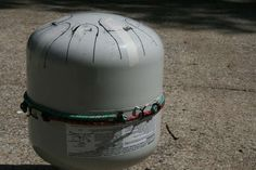 DIY video on building your own hank or tongue drum out of an empty propane tank. Approx cost for materials is $27