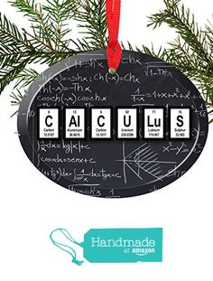 Teach periodic table of elements christmas ornament periodic table calculus periodic table of elements glass christmas ornament from neurons not included http urtaz Choice Image