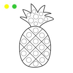 Finger Painting, Dot Painting, Teaching Kids Colors, Fruit Crafts, Material Didático, Do A Dot, Painting Templates, Hand Lettering Alphabet, Infant Activities