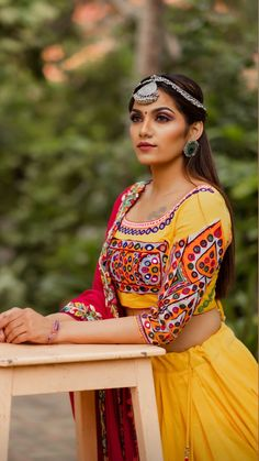 Garba Dress, Navratri Dress, Lehenga Choli, Sarees, Mermaid Dresses, Dance Costumes, Indian Dresses, Blouse Designs, Beautiful Dresses
