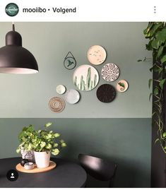 24 Inspirational ideas with plates on wall - Little Piece Of Me Wall Deco, Room Inspiration, Home And Living, Plates On Wall, Interior, Home Decor, House Interior, Room Decor, Home Deco