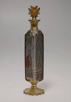 1845 German (Erbach im Odenwald) Bottle at the Metropolitan Museum of Art, New York