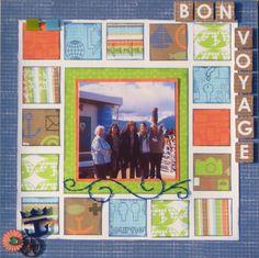 BON VOYAGE - Scrapbook.com