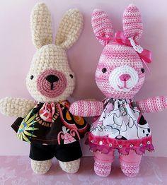 https://flic.kr/p/bjJt46   Amigurumi bunnies