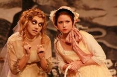 Mad Margaret and Rose Maybud - Ruddigore heroines