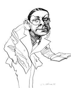 T.S. Eliot, David Levine
