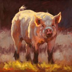 """Pig Pen"" by Cheri Christensen"