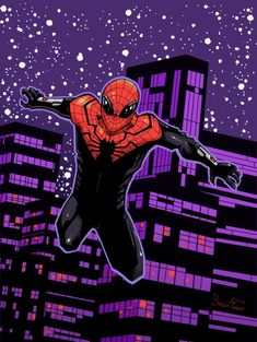 Superior Spider-Man colored. Hope you like it. Favorites and comments always help   -Brock Aamodt