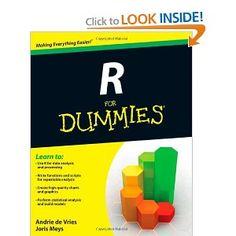 R For Dummies: Joris Meys, Andrie de Vries: 9781119962847: Amazon.com: Books