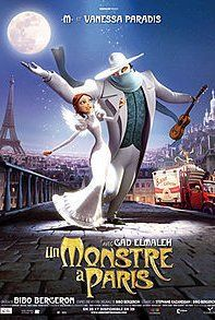 A Monster In Paris official French poster! - Re-pinning to win A Monster In Paris on DVD!