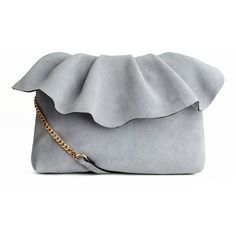 Suede Shoulder Bag $59.99 ($60) ❤ liked on Polyvore featuring bags, handbags, shoulder bags, flap purse, zip shoulder bag, zipper flap purse, shoulder hand bags and shoulder bag purse