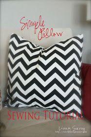 * Flower Hill Design *: {Tutorial} Sewing a Basic Pillow