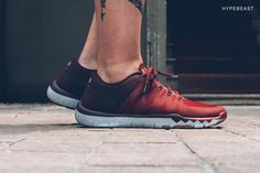 NikeLab X158 Exclusive Free TR 5.0 V6 Premium  Adding to the exclusive versions of the shoe dropping at Dover Street Market, this NikeLab exclusive colorway in deep red and maroon edition of the TR 5.0 V6 will be available exclusively at Shanghai's X158 NikeLab location, and is signified with X158 emblazoned across each heel, tongue, and even the lace tips.