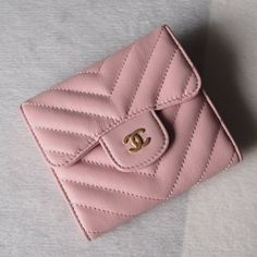 Chanel Classic Small Pocket Flap Wallet Style code: Size: x x inches Chanel Wallet, Purse Wallet, Unique Selling Proposition, Birkin, Hermes, Wallets, 18th, Joy, Pocket