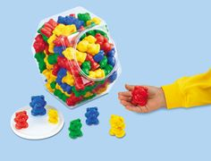 Size & Color Teddy Counters at Lakeshore Learning