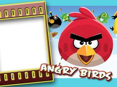 Marco de foto angry birds