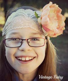 Boho chic headband By Vintage Fairy
