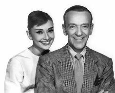 "Audrey Hepburn - ""Funny Face"" Audrey Hepburn, Fred Astaire 1956 Paramount **I.V."
