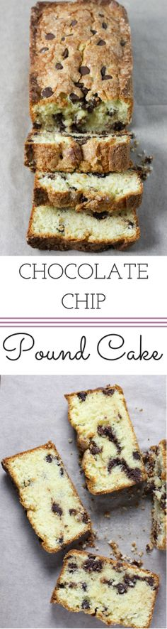 #Chocolate Chip Pound Cake is the perfect treat! | Dough-Eyed