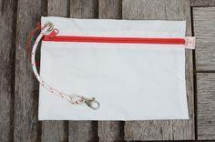 Pochette en toile de voile Bags, Veil, Pouch Bag, Handbags, Dime Bags, Totes, Hand Bags, Purses, Bag