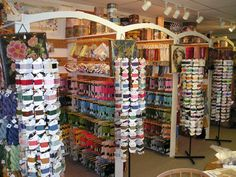 Needlepoint Junction  Hilton Head, SC  A needlepoint shop, but there is a nice little selection of knitting yarn and patterns too.