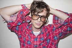Matthew Gray Gubler photo by Terry Richardson