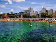 porto da barra, salvador, bahia, brasil, stand up paddle.
