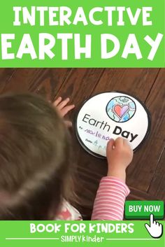 Grab this interactive Earth Day book for Kindergarten & First Grade. Filled with engaging & fun differentiation options for your students. Cut & color this Earth Day craft book to watch the learning happen! Add to your Earth Day lesson plans today!