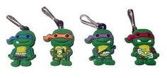 Ninja Turtles Snap Hook Zipper Pulls 4 Pcs Set 1 by Atlantis USA -- You can find out more details at the link of the image.Note:It is affiliate link to Amazon.