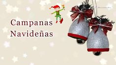 Campanas navideñas con botellas pet | Manualidades