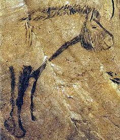 Horse. Grotte de Niaux. Ariège